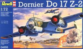 Revell DORNIER DO 17 Z-2 1:72 - Wild Willy - Toys Lebanon