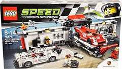 LG SPEED PORSCHE 919 HYBRID AND 917K PIT LANE (75876) - Wild Willy - Toys Lebanon