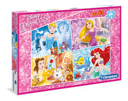 CL PUZZLE MAXI DISNEY PRINCESS 30PCS 3+ - Wild Willy - Toys Lebanon