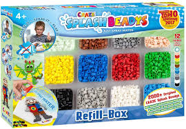 CRAZE SPLASH BEADYS BOX + REFILL 4+ - Wild Willy - Toys Lebanon