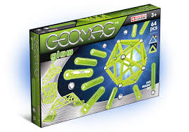Geomag GLOW - 64 pcs ( GM336 ) - Wild Willy - Toys Lebanon
