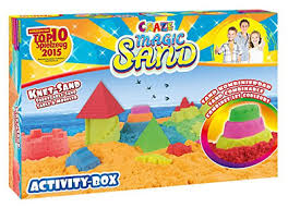 CRAZE MAGIC SAND ACTIVITY BOX SAND COMBINABLE - Wild Willy - Toys Lebanon