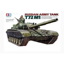 TAMIYA T72 M1 RUSSIAN ARMY TANK ( TY35160N ) - Wild Willy - Toys Lebanon