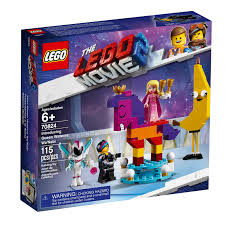 LG THE LEGO MOVIE 2 INTROUCING QUEEN WATEVRA WA.NABI 6+ LG70824 - Wild Willy - Toys Lebanon