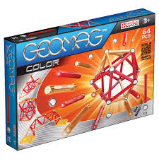 GEOMAG COLOR 64PCS 3Y+ ( GM253 ) - Wild Willy - Toys Lebanon