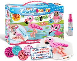 CRAZE SPLASH BEADYS STARTER SET FLAMINGO 4+ - Wild Willy - Toys Lebanon
