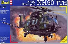 Revell NATO HELICOPTER NH90 TTH 1:72 - Wild Willy - Toys Lebanon