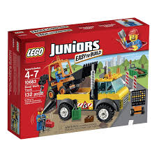 Lego Juniors Road Work Truck 10683 - Wild Willy
