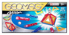 GEOMAG GLITTER 22 PCS ( GM530 ) - Wild Willy - Toys Lebanon