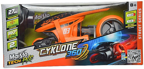 Maisto Tech R/C cyklone 360 - Wild Willy - Toys Lebanon