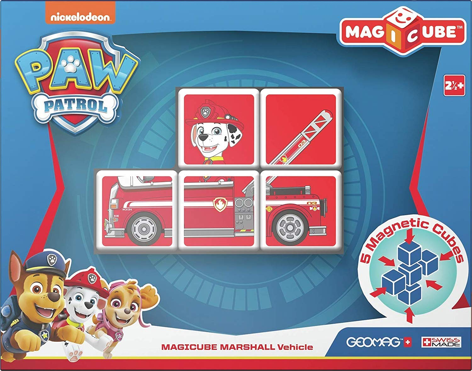 Geomag MAGICUBE PAW PATROL SKYE VEHICLE GM080 - Wild Willy - Toys Lebanon