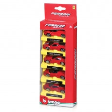 BU FERRARI PACK OF 5 PCS ASST 1:64 - Wild Willy - Toys Lebanon