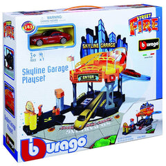 BU STREET FIRE SKYLINE GARAGE ( BU30358 ) - Wild Willy - Toys Lebanon