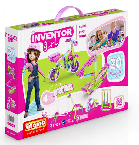 EN INVENTOR GIRLS 20 MODELS IG20 - Wild Willy - Toys Lebanon