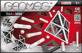 GEOMAG Coffret Black and White 68 pièces - Wild Willy