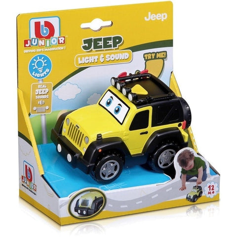 BBJ JEEP WRANGLER LIGHT & SOUNDS - Wild Willy - Toys Lebanon