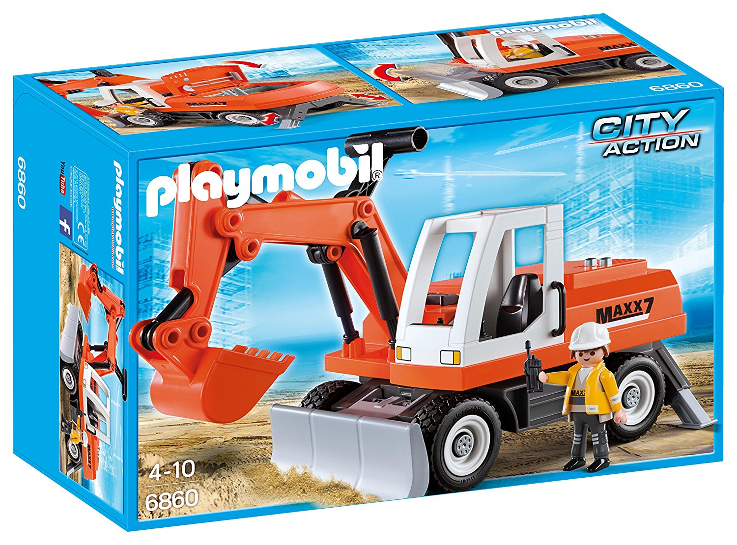 PM RUBBLE EXCAVATOR (6860) - Wild Willy - Toys Lebanon