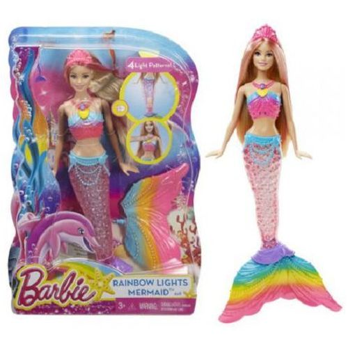 Barbie Rainbow Lights Mermaid Doll DREAMTOPIA - Wild Willy