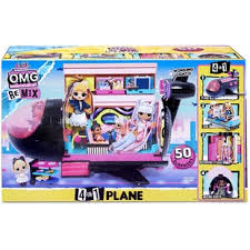 L.O.L Surprise! O.M.G Remix 4-in-1 Plane Playset