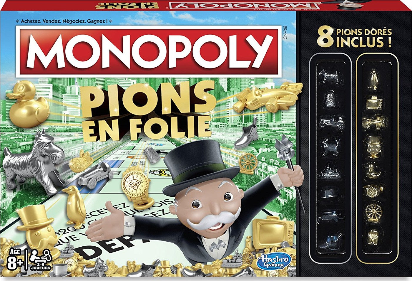 MONOPOLY PIONS EN FOLIE - Wild Willy