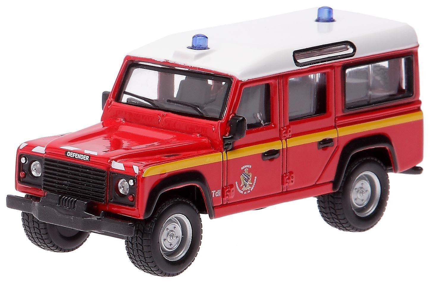 Bburago Land Rover Defender - British Police Force - Wild Willy
