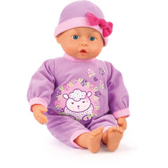 Bayer FIRST WORDS BABY 24FN PURPLE38CM 93863AD - Wild Willy