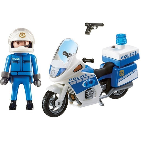 PM Police Bike with LED Light (6923) - Wild Willy - Toys Lebanon