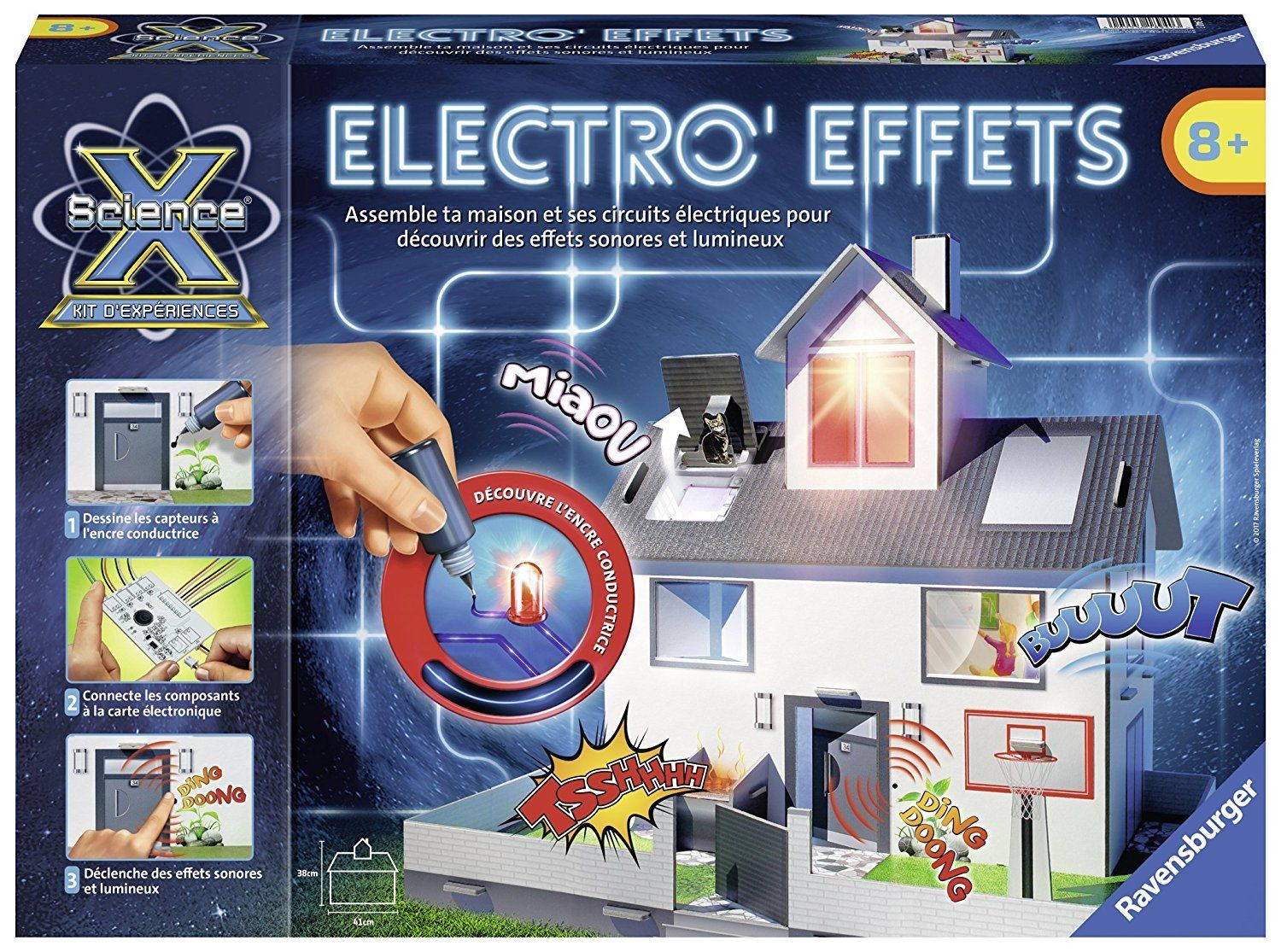 Ravensburger X SCIENCE ELECTRO EFFETS - Wild Willy