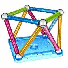 GEOMAG GLITTER 30 PCS 3+ ( GM531 ) - Wild Willy - Toys Lebanon