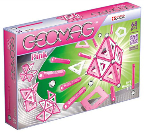GEOMAG PINK 68PCS 3Y+ ( GM342 ) - Wild Willy - Toys Lebanon
