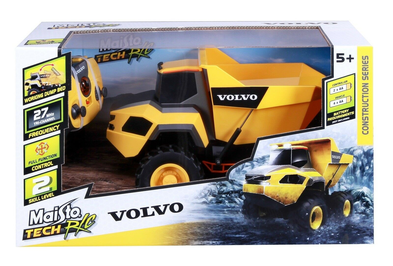 Volvo Rock Hauler - Wild Willy - Toys Lebanon