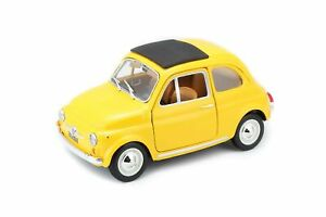 BU FIAT 500 F YELLOW ( BU22098 ) - Wild Willy - Toys Lebanon