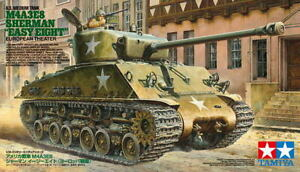 TAMIYA SHERMAN M4A3E8 EASY EIGHT EUROPEAN THEATER 35346 - Wild Willy - Toys Lebanon