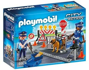 PM Police Roadblock (6924) - Wild Willy - Toys Lebanon