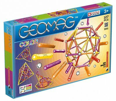 GEOMAG COLOR 127PCS GM264 - Wild Willy - Toys Lebanon