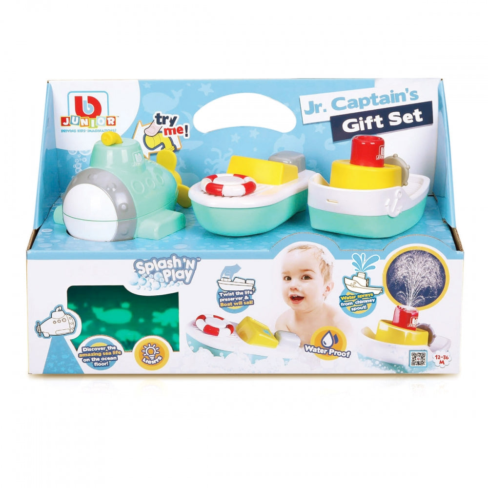 BB Junior Splash & Play Gift Set - Wild Willy
