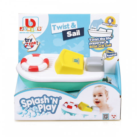 BBJ SPLASH & PLAY TWIST & SAIL12-36M - Wild Willy - Toys Lebanon
