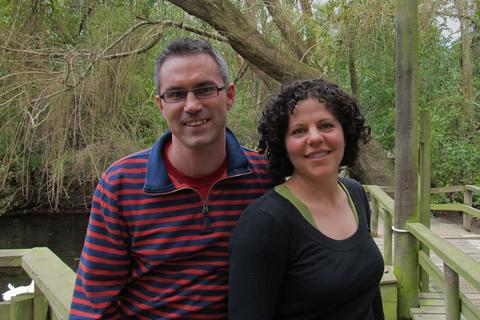 Photo of FreshTake Publishers Directors, Jennifer & David Hammond