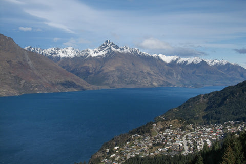 Photo over looking Lake Wakatipu, Queenstown, NZ