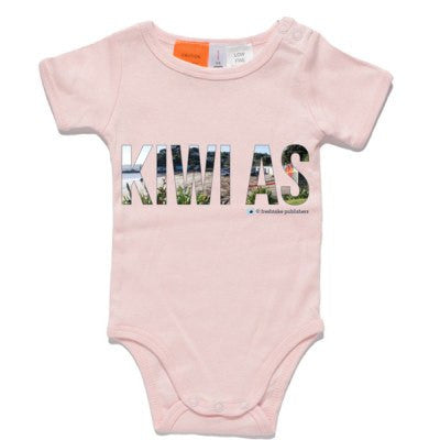 Pink Kiwi As Baby One Piece