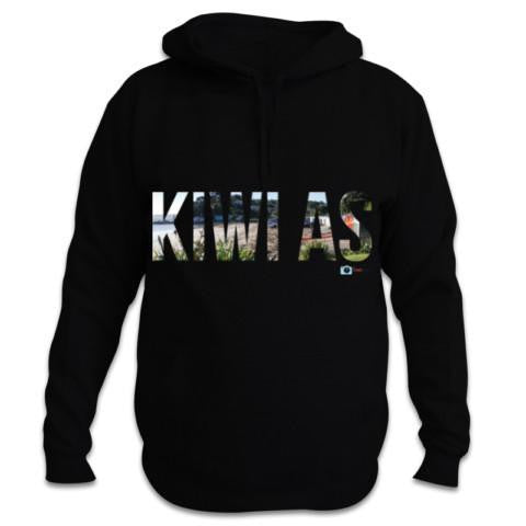 Photo of a Black NZ Hoodie - I'd Rather Be Here