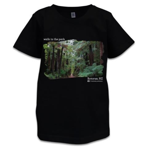 Photo of Black NZ Children's T-Shirt - Rotorua, NZ