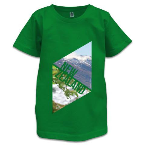 Photo of Green NZ Children's T-Shirt - NZ Explorer