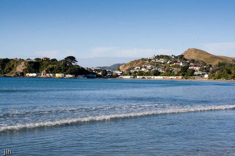 Canvas Print - Photo of Titahi Bay Beach, Porirua, NZ