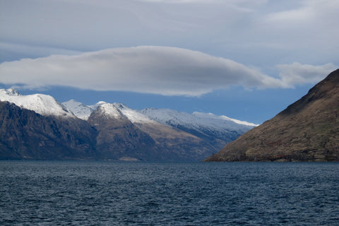 Photo from Lake Wakatipu