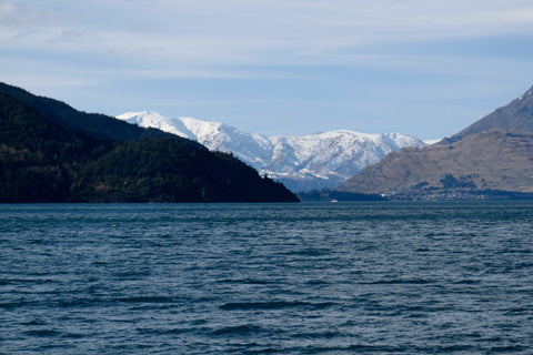 Photo of the Remarkables from Lake Wakatipu