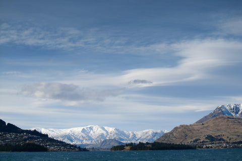 The Crown Range, Queenstown Canvas Print