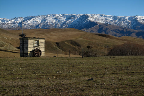 Canvas Print - Photo of a Central Otago hill country farm, New Zealand