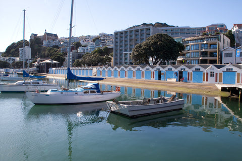 Photo of Oriental Bay Boat Sheds, Wellington, NZ