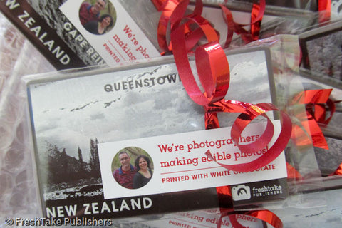 NZ handmade chocolate photo of Queenstown